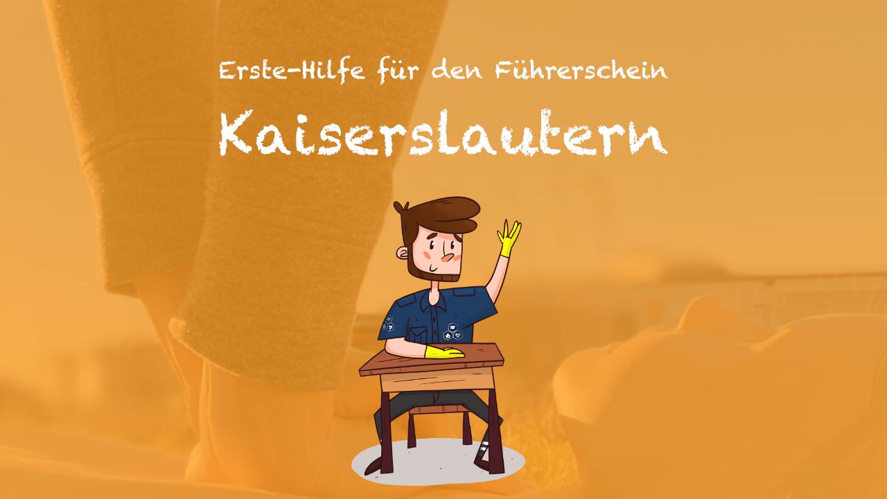 EMT Erste Hilfe für den Führerschein Kaiserslautern Header